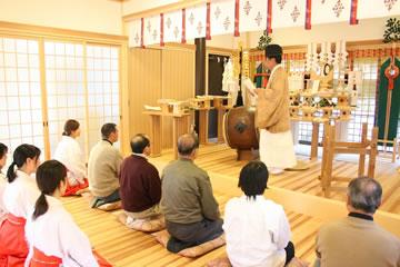 熊野神社 初詣 祈祷