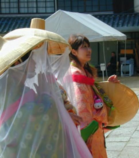 第21回 瀬戸内倉敷ツーデーマーチ 物詣姿で参加。