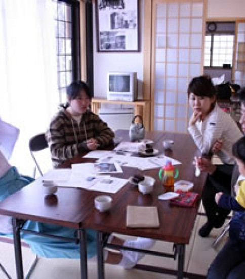 熊野神社デジタルフォトコンテスト'08 審査のようす