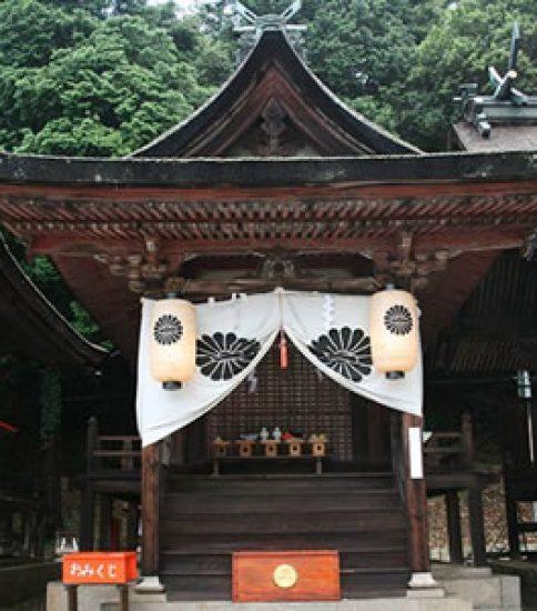 熊野神社国重要文化財二殿修理工事始まる
