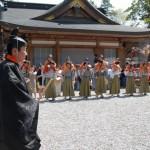 熊野本宮大社 例大祭に参加 04