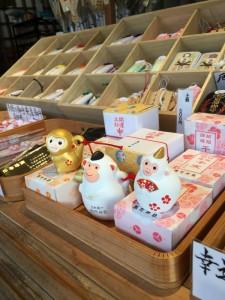 熊野神社 初詣準備風景